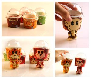 Ice Cream Cup Bobblers