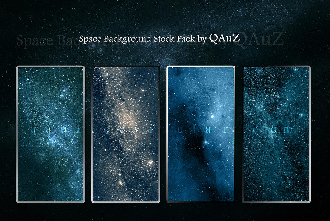 Space Background Stock Pack by QAuZ