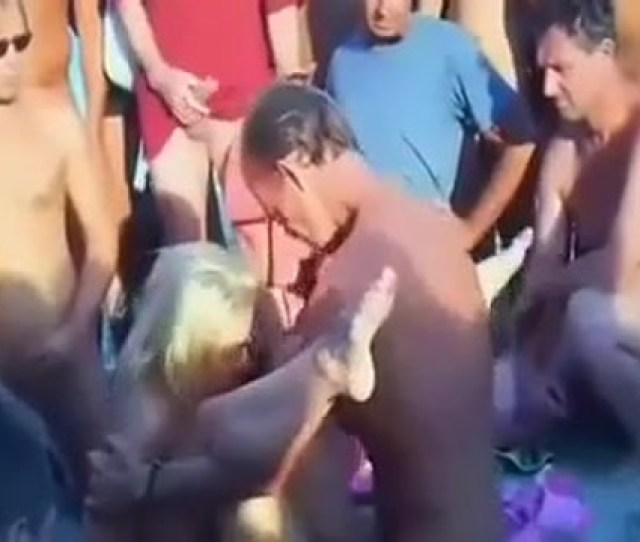 Group Sex At The Nude Beach