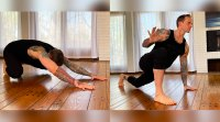 Mike Fitch does bodyweight exercises with an anterior flow