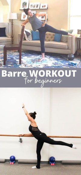 Barre workout for beginners {video}