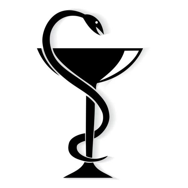 Медицинский Знак Змея И Чаша В Векторе - livingdedal