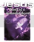Jesus friend of the wounded heart