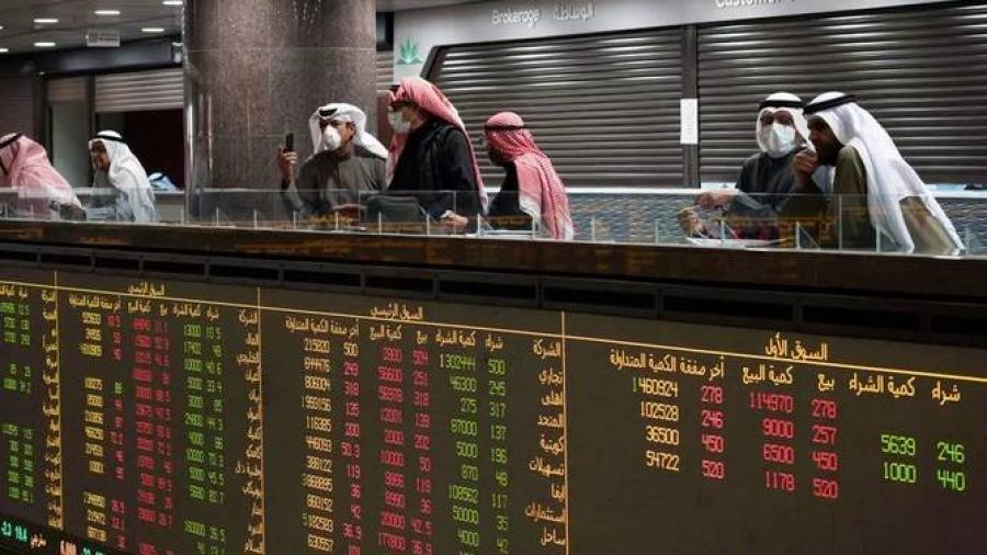 بورصات الخليج الكبرى تغلق على ارتفاع و أرامكو تعمق خسائرها.