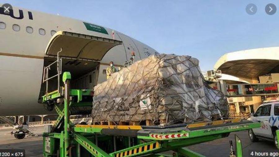 وصول طائرتي إغاثة إضافيتين من السعودية إلى لبنان