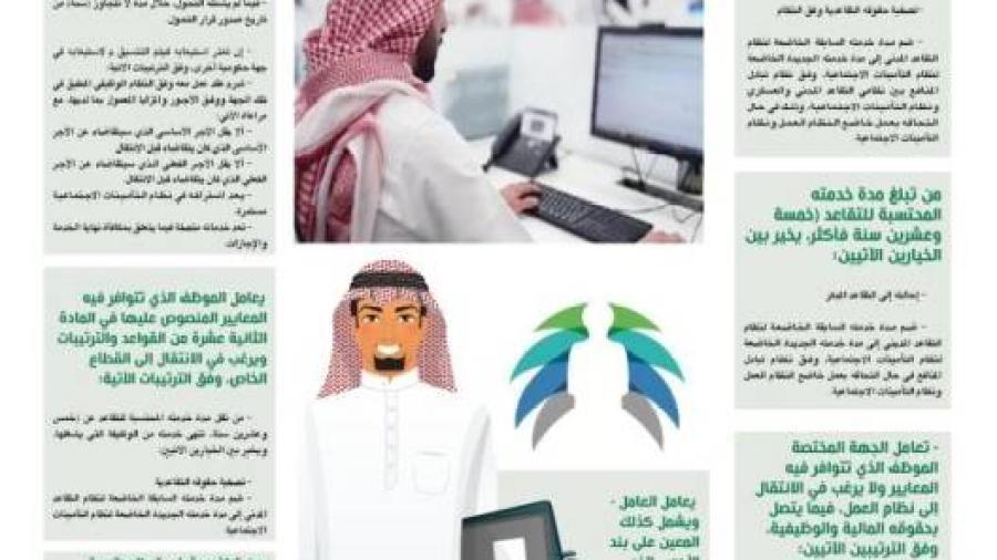آلية تحول الموظفين الحكوميين