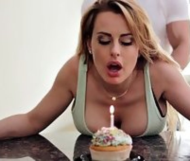 Fat Cock In Her Throat Is The Best Birthday Present