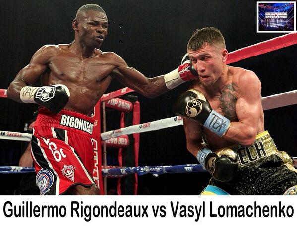 Image result for rigo vs lomachenko