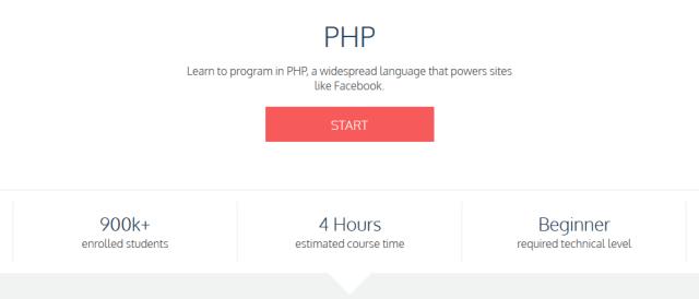 Học PHP cơ bản miễn phí tại CodeAcademy
