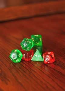 Dungeons & Dragons Gaming Dice