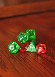 Dungeons & Dragons Gaming Dice
