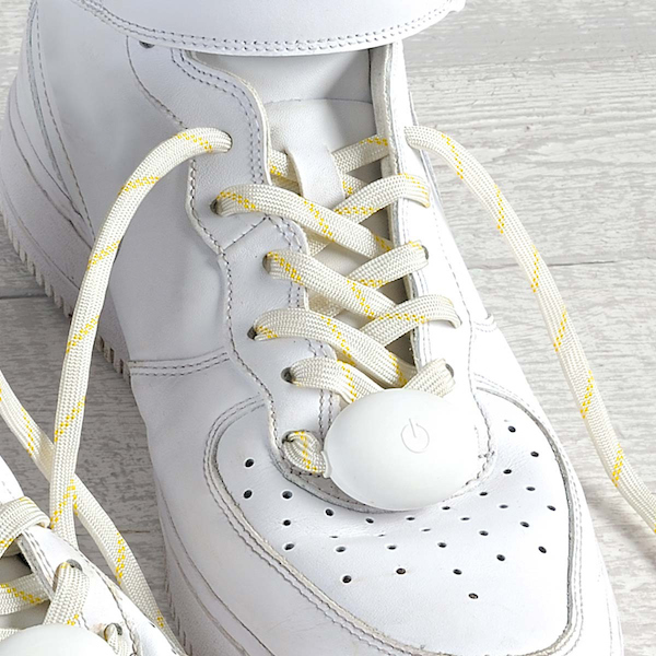 shoelaces lights led red