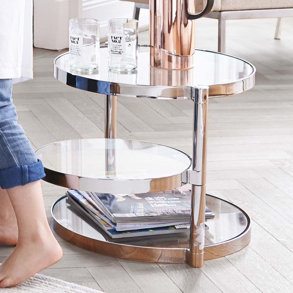 Glas Side Table Mood Ambiente
