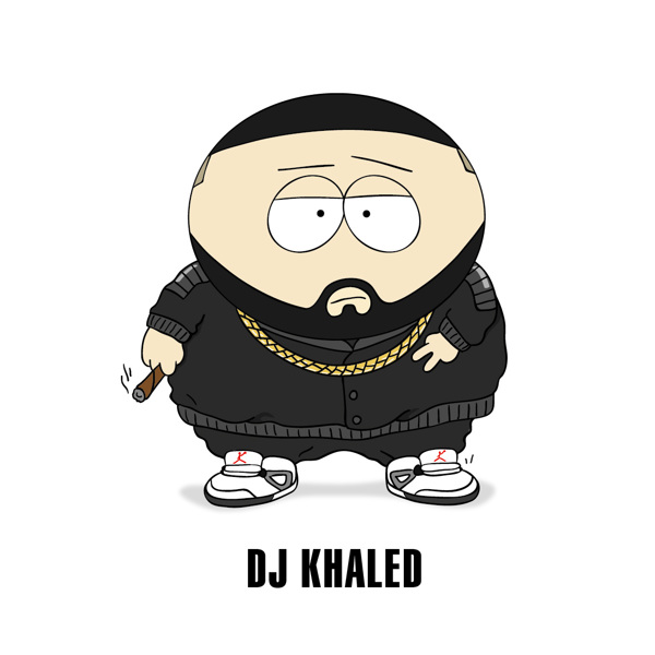 Cartoon X POP by Zhi-Yun Zhang DJ Khaled
