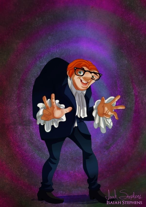 Disney Heroes Dressed Up In Awesome Halloween Costumes by Isaiah Stephens Quasimodo