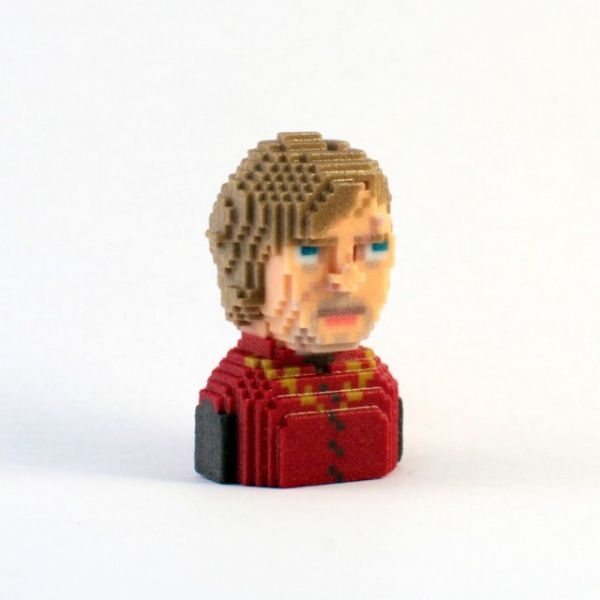 Game of Thrones in Pixels by Leblox Tyrion Lannister