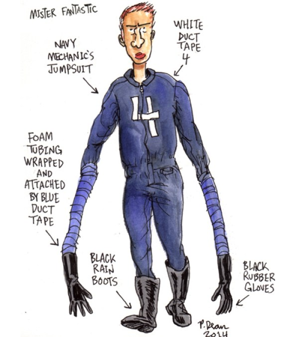 half assed cosplay ideas by patrick dean mister fantastic