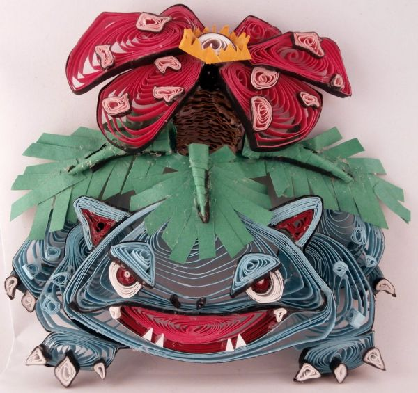 Paper Quilling Starter Generation One by Aimie Holdorf Venusaur
