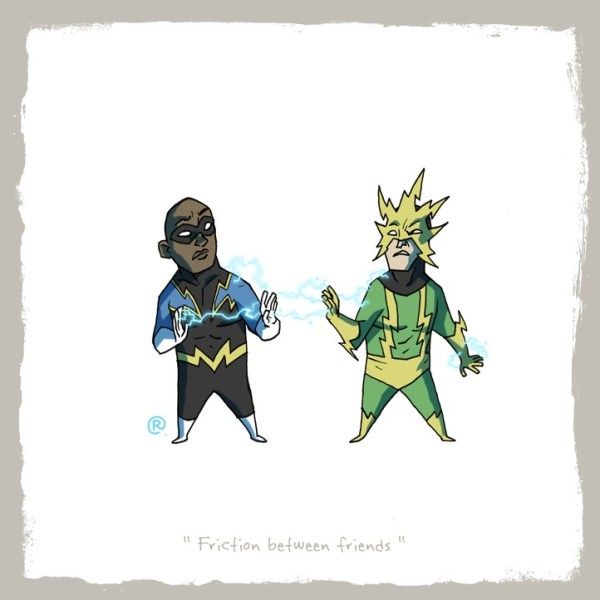 Little Superhero Friends Electro Darren Rawlings
