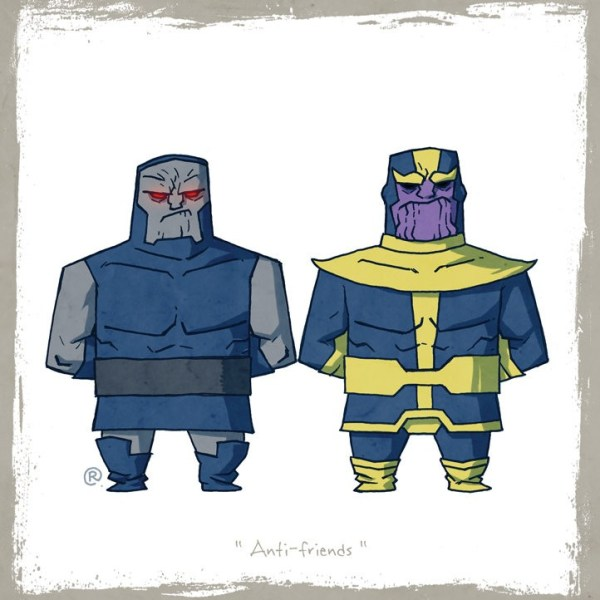 Little Superhero Friends Thanos Darren Rawlings