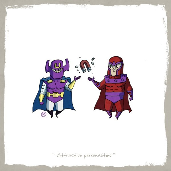 Little Superhero Friends magneto Darren Rawlings