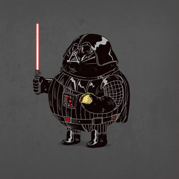 The Famous Chunkies Alex Solis Darth Vader