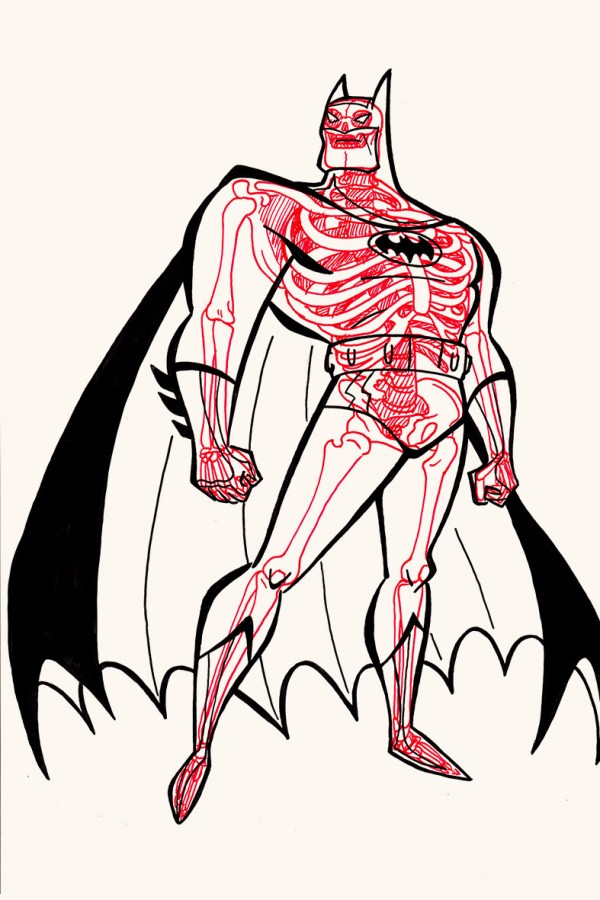 XRAY Comic Characters Batman# by Chris Panda