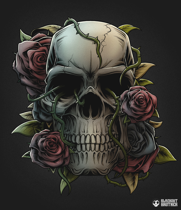 blackout brothers skull
