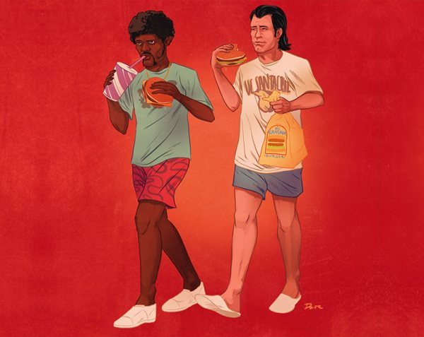 pop-culture-buddies-dave-collison-pulp-fiction