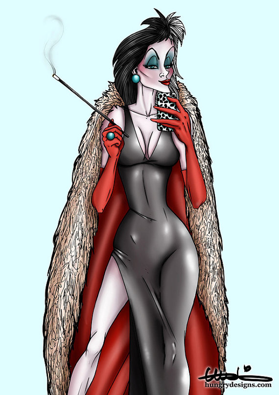 Disney Selfie Cruella Hungry Designs