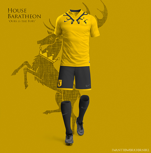 Game of Thrones World Cup Nike Concepts House Baratheon