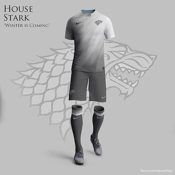Game of Thrones World Cup Nike Concepts House Stark