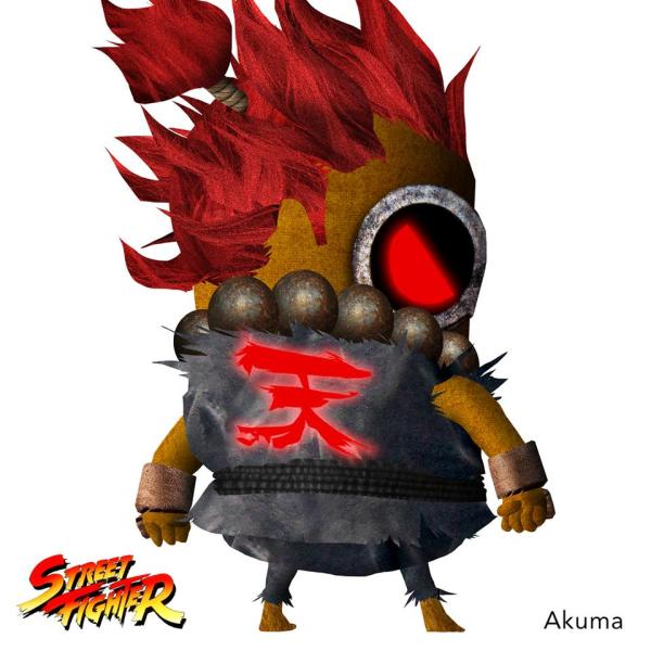 Minion Street Fighter Akuma