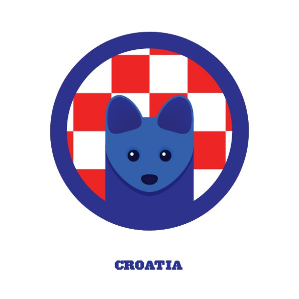 World Cup Postcards Croatia
