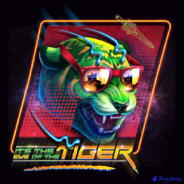 80ies-Album-Cover-Villains-Eye-of-the-tiger