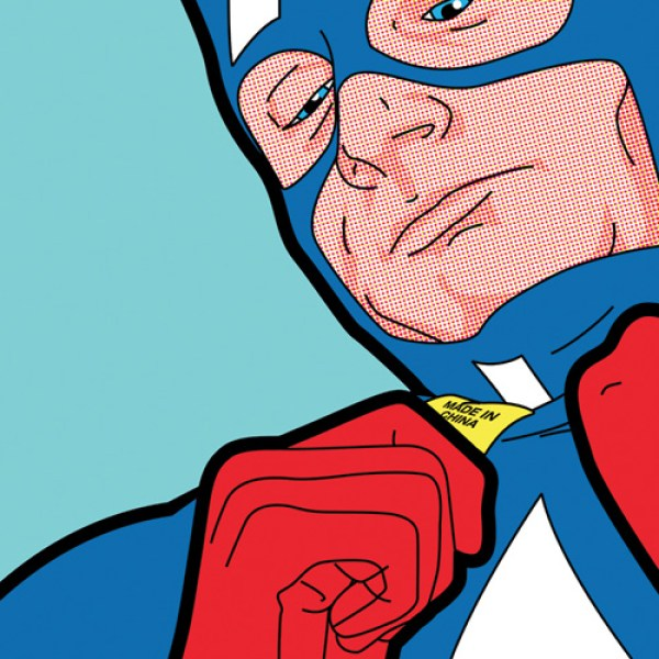 The Secret Life of Heroes Captain America