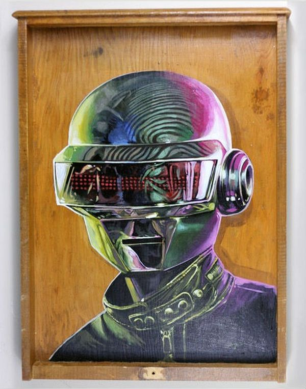 Daft Punk by Serge Gay JR 01