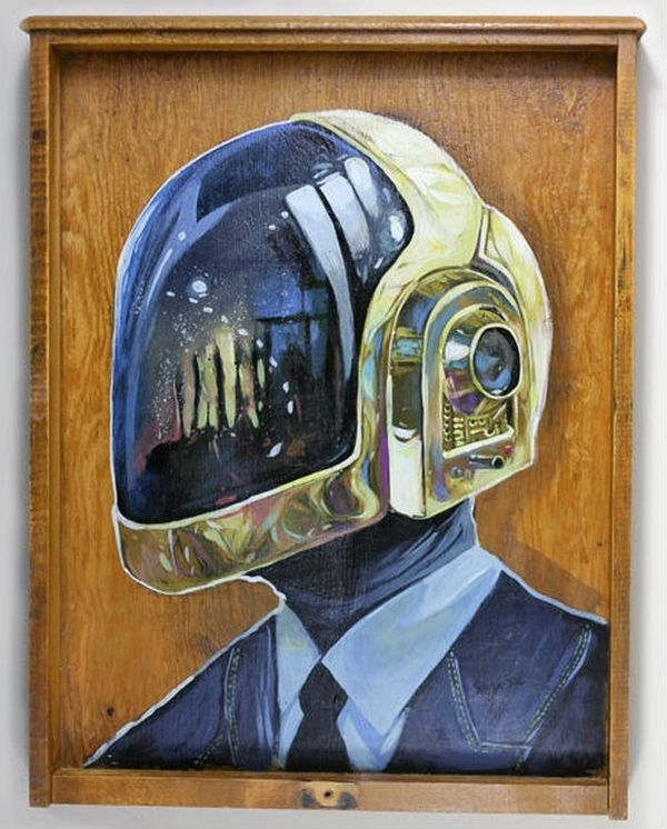 Daft Punk by Serge Gay JR 04
