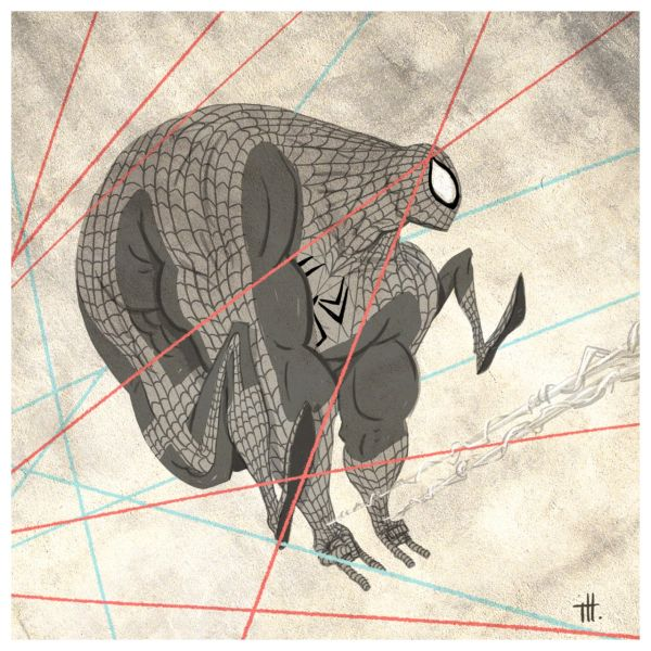 Super People by Tim Heitz Spiderman
