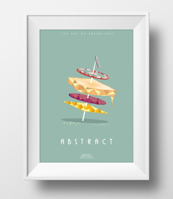 The Art of Sandwiches by Jeremy & Gabrielle Abstract