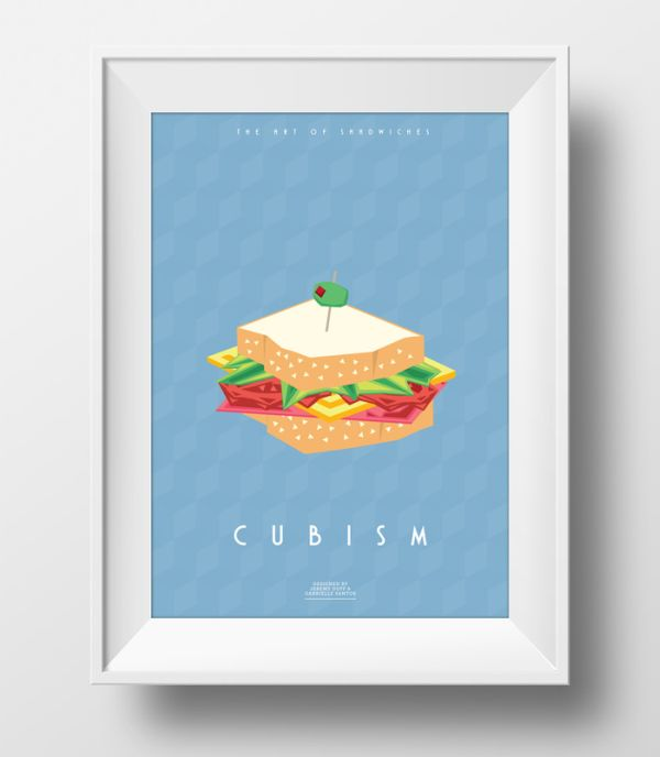 The Art of Sandwiches by Jeremy & Gabrielle Cubism