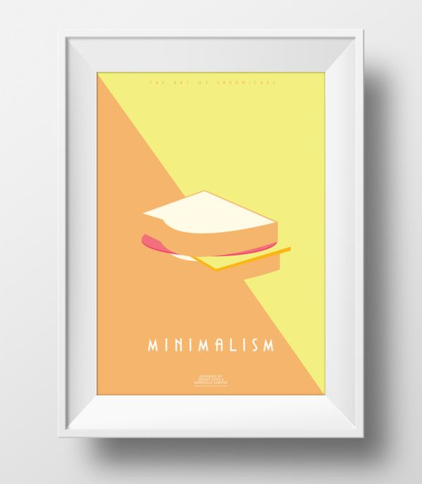 The Art of Sandwiches by Jeremy & Gabrielle Minimalism