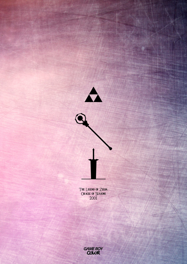 LEGEND OF ZELDA 1986 — 2013 by Esteban Hidalgo 2001