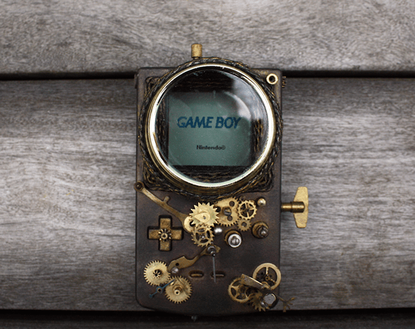 Steampunk Game Boy by Elise Siegwald 01