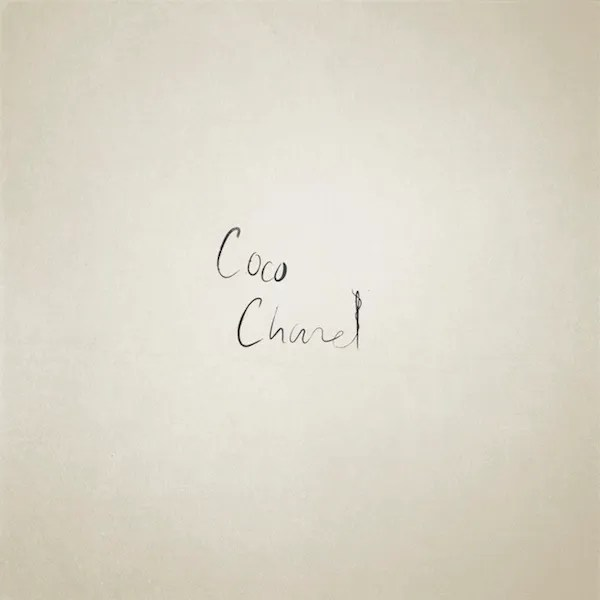Famous People Iconic Letters Coco Chanel