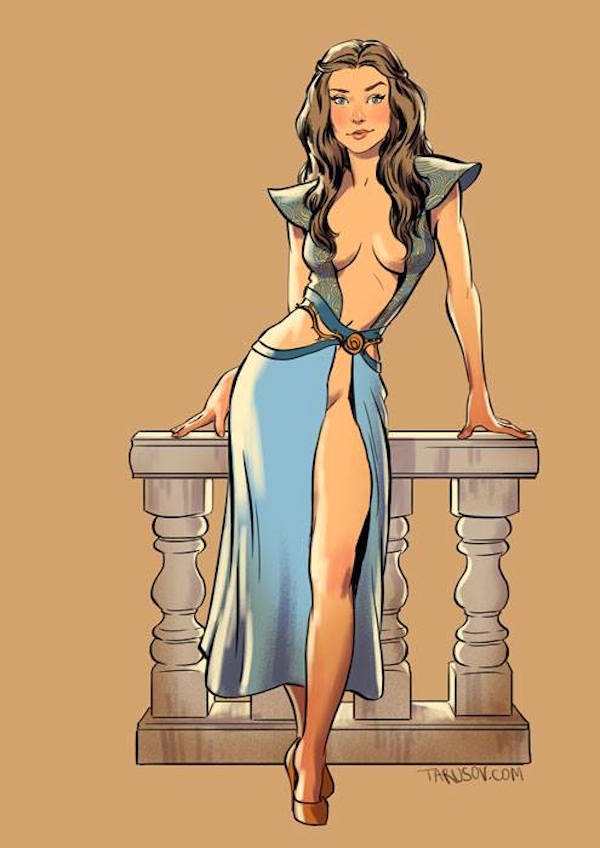 Game-of-Thrones-Pin-Ups-Margrit-Andrew-Tarusov