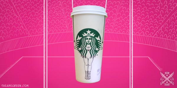 The Secret Life of the Starbucks Siren by Abe Green Gymnastic