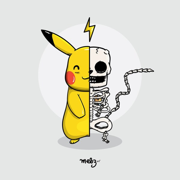 What's Inside by mebz art Pikachu
