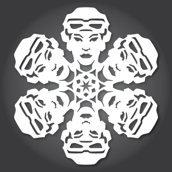 Star Wars SnowFlakes by Anthony Herrera Rey