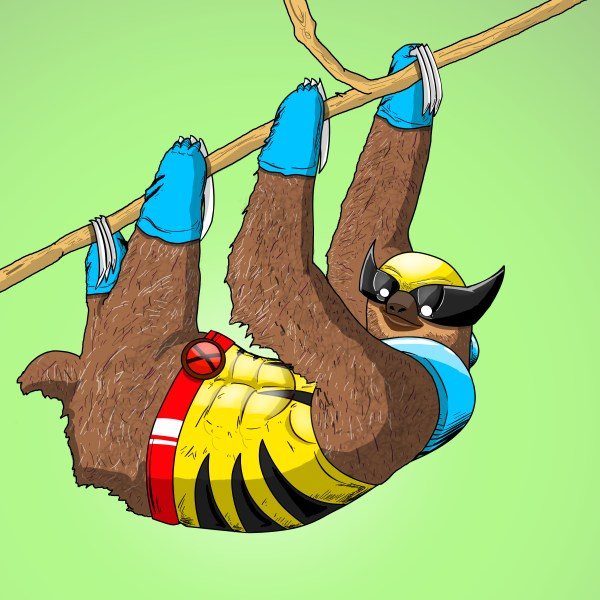 Animals like Superheroes by Suraj Sirohi Slotherine